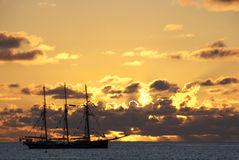 Het schip van het zeil Stock Afbeelding