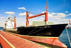 Het schip van Moorage. Royalty-vrije Stock Afbeeldingen