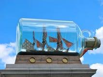 Het Schip van Nelson in een Fles Royalty-vrije Stock Afbeelding