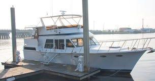 Het Schip van Nice bij Dok Royalty-vrije Stock Afbeelding