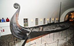 Het schip van Viking Stock Foto's