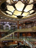 Het schipbinnenland van de cruise Stock Foto's