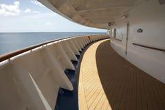 Het schipdek van de cruise Royalty-vrije Stock Afbeeldingen