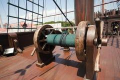 Het schipdetail van het galjoen royalty-vrije stock afbeelding