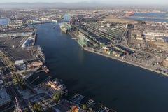 Het Schipkanaal van Los Angeles Royalty-vrije Stock Afbeeldingen