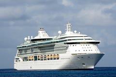 Het schipreeks van de cruise royalty-vrije stock fotografie