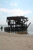 Het Schipwrak van Peter Iredale Stock Foto's