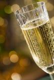 Het schitteren champagne Stock Foto's