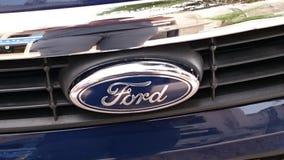 Het schitteren Ford royalty-vrije stock afbeeldingen