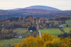 Het Schitterende Gebladerte van Vermont Royalty-vrije Stock Foto