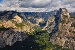Het schitterende Nationale Park van Yosemite, Californië, de V.S. Royalty-vrije Stock Foto's