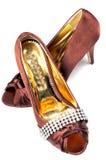 Het schoeisel van dames Stock Foto's