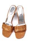 Het schoeisel van dames stock afbeelding