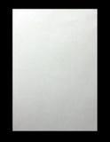 Het schone blad van het document dat op een zwarte achtergrond wordt geïsoleerda Stock Afbeelding