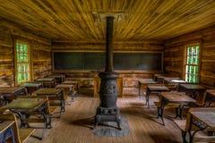 Het schoolgebouw van de borstelberg, het Nationale Park van Cumberland Gap royalty-vrije stock afbeelding