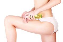 Het schoonheidsmiddel van benen Royalty-vrije Stock Afbeeldingen
