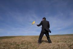Het schoonmaken van het milieu stock fotografie