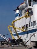 Het schoonmaken van het schip