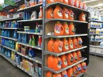 Het schoonmaken van Nice producten het verkopen Royalty-vrije Stock Afbeelding