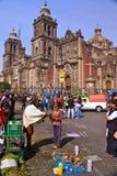 Het schoonmaken van Shamanic ceremonie in Mexico-City Royalty-vrije Stock Afbeelding