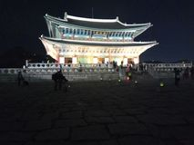 Het Schot van de Gyeongbukgongnacht Royalty-vrije Stock Afbeeldingen