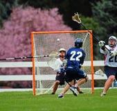 Het schot van de lacrosse Royalty-vrije Stock Afbeelding