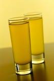Het Schot van de wodka stock fotografie