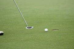 Het schot van het golf Royalty-vrije Stock Foto's