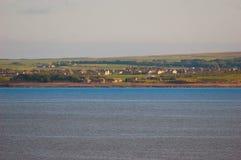 Het Schotse Landschap van de Avond stock foto's