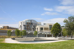Het Schotse Parlement 1 Stock Foto