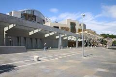 Het Schotse Parlement 2 stock afbeelding