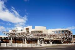 Het Schotse Parlementsgebouw royalty-vrije stock foto