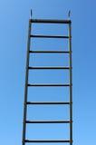 Het schrapen van ladder Royalty-vrije Stock Foto's
