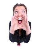 Het schreeuwen Stock Fotografie