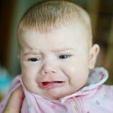 Het schreeuwen van de baby Stock Afbeelding