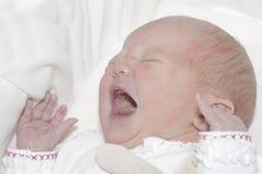 Het schreeuwen van de baby royalty-vrije stock foto's
