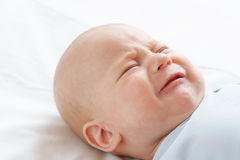 Het schreeuwende kind Royalty-vrije Stock Afbeeldingen