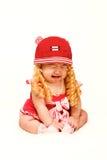 Het schreeuwende Meisje van de Baby Royalty-vrije Stock Afbeeldingen