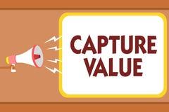 Het schrijven nota het tonen vangt Waarde De bedrijfsfoto demonstratieklantrelatie stelt van het de Sterktebehoud van het Behoeft royalty-vrije illustratie