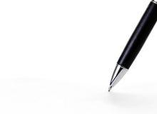 Het schrijven van de pen Royalty-vrije Stock Afbeeldingen