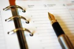 Het schrijven van notitieboekje Royalty-vrije Stock Afbeeldingen