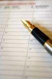 Het schrijven van notitieboekje Stock Afbeelding