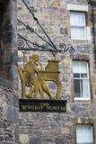Het Schrijversmuseum in Edinburgh royalty-vrije stock afbeelding