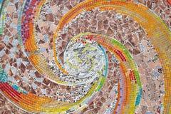 Het schroot van glas brengt in de cirkelspoelen geproduceerd naadloos te Stock Afbeeldingen