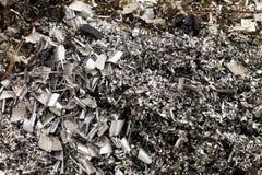 Het schroot van het aluminium Royalty-vrije Stock Fotografie