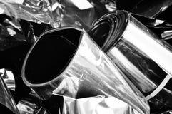 Het schroot van het metaal stock afbeeldingen
