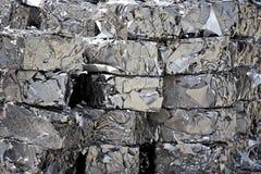 Het schroot van het roestvrij staal Royalty-vrije Stock Foto's