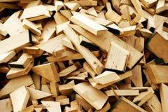 Het Schroot van het timmerhout stock afbeeldingen