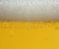 Het schuim van het bier, achtergrond Royalty-vrije Stock Foto
