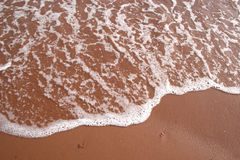 Het Schuim van het strand stock fotografie